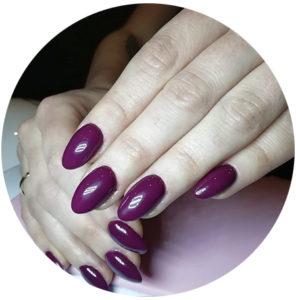 manicure-fioletowe